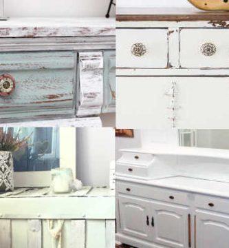 Imágenes de pintura a la tiza blanca chalk paint blanco