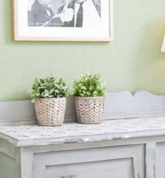 Muebles con pintura a la tiza