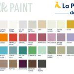 Paleta de colores de chalk paint La Pajarita