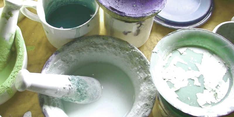 Cómo hacer pintura a la tiza