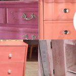 imágenes de pintura a la tiza rosa chalk paint