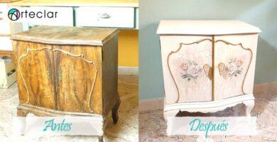 Pintar muebles de madera con pintura a la tiza o chalk paint curso taller paso a paso